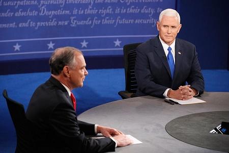 美副總統候選人辯論 彭斯為特朗普扳回一城