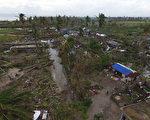 海地在颶風馬修肆虐後滿目蒼夷。(NICOLAS GARCIA/AFP/Getty Images)