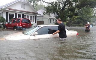 """【更新】""""马修""""飓风减为一级 移向北卡"""
