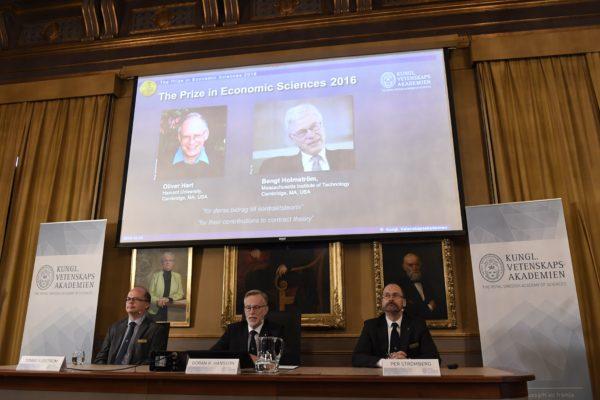 諾貝爾經濟學獎2得主 他們的貢獻是什麽
