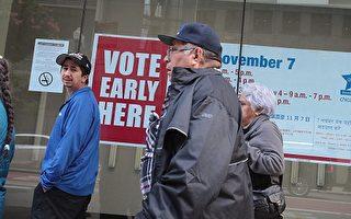 美大选早期投票 川普希拉里各具优势