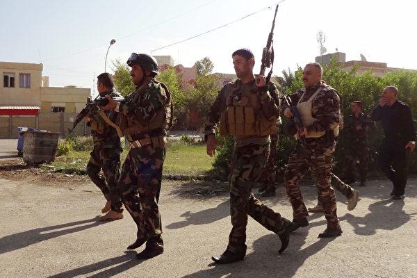 激戰一晝夜趕走IS 伊軍奪回產油城基爾庫克