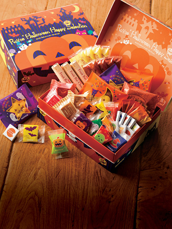 ROYCE'萬聖節限量版糖果盒。(ROYCE'提供)