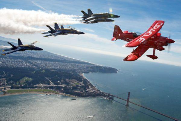 舊金山艦隊週揭幕 藍天使10月7日開始表演