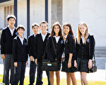Saint Andrew's Episcopal School的学生来自不同的家庭背景与族裔,每个都充满自信并学习团队合作。(Saint Andrew's提供)
