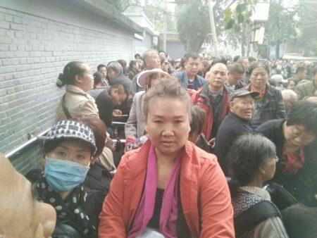 29省逾萬民辦教師北京集體上訪維權