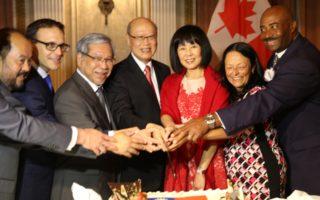 加首都台灣雙十酒會 60餘聯邦議員出席同慶