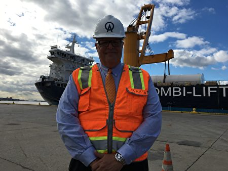 纽约摩天轮公司总裁瑞奇‧马林(Rich Marin)。