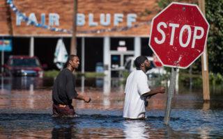 颶風「馬修」重創北卡 18死洪水氾濫