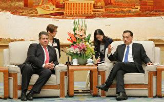 德國經濟部長訪華首日遇冷
