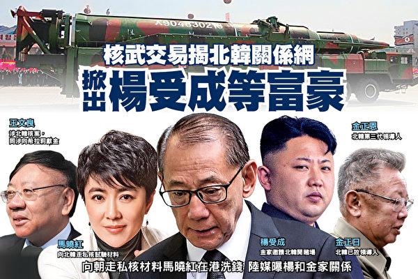 核武交易揭北韓關係網 掀出楊受成等富豪