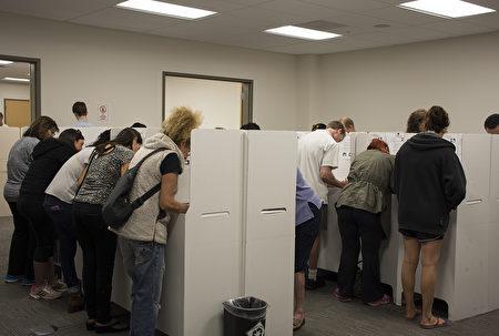 2016年美国总统大选圣地亚哥县选民投票