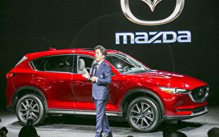 增加柴油引擎 第二代Mazda CX-5车展亮相