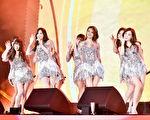 韓團少女時代壓軸演出。(Webtvasia Taiwan提供)