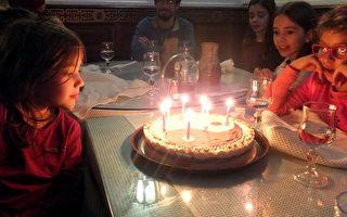 法國媽媽為女兒過中國式生日