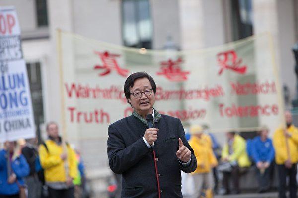 德國國際人權協會(IGFM)中國事務主席吳文昕。(傑森/大紀元)