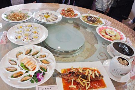 基隆山药大餐12月1日起预购,10大菜1甜点,加赠红淡比土蜂蜜饮料一瓶。(周美晴/大纪元)