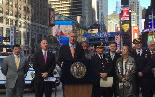 今大選日 紐約警方最高安保