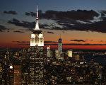 纽约帝国大厦。 (John Moore/Getty Images)