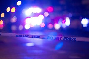 周三凌晨3:30,在多伦多市中心的Dundas街夹George街发生枪击。(BRYAN R. SMITH/AFP/Getty Images)