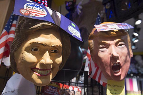 準確預測美大選二十年 「面具指數」看好誰?