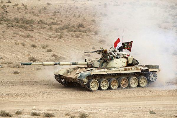 四面包抄 伊軍時隔兩年再次攻入摩蘇爾