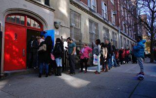今年大选美国有2亿注册选民,亚裔选民投票人口增长一个百分点,从3%增至4%。(KENA BETANCUR/AFP/Getty Images)