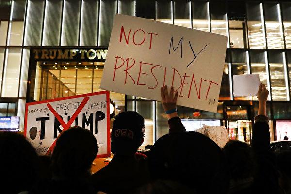 反特朗普示威第三晚 波特蘭抗議變騷亂