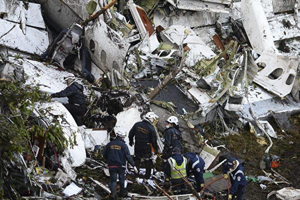 載巴西足球隊班機墜毀 四人未登機逃過一劫