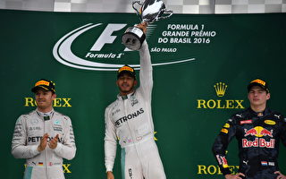 F1巴西站小漢雨戰登頂 總冠軍懸念留最後