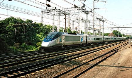 Amtrak的Acela Express是西半球速度最快的列車。(Amtrak提供)