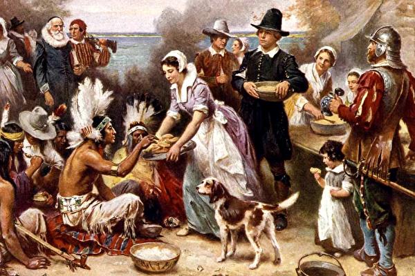 美史上首个感恩节吃什么 鹿肉炖菜蘸绿酱