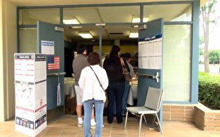 洛縣選民熱情高 排隊4小時提前投票
