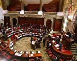 明年1月州參議院會期開始時,多個參議員席位將發生變化,但共和黨仍保持多數黨地位。 (Daniel Barry/Getty Images)