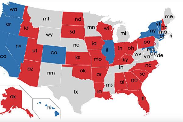 赢白宫 掌参众两院 美共和党大胜