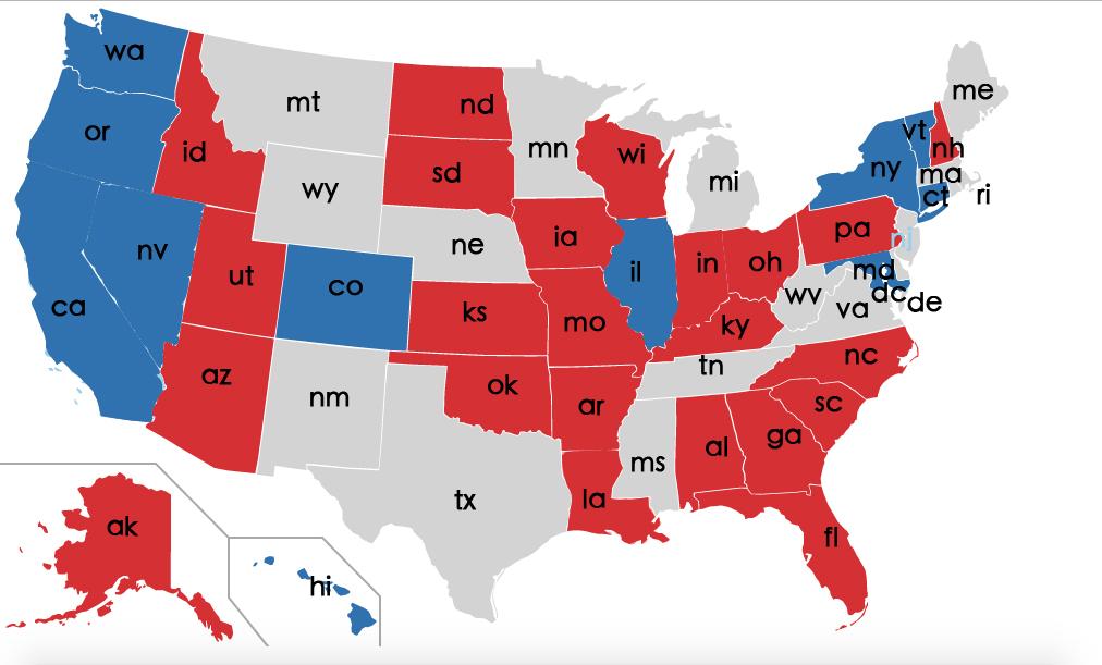 總統國會雙贏 共和黨續掌參眾兩院