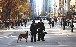梅西感恩节游行遭恐怖威胁  NYPD:无须惧怕
