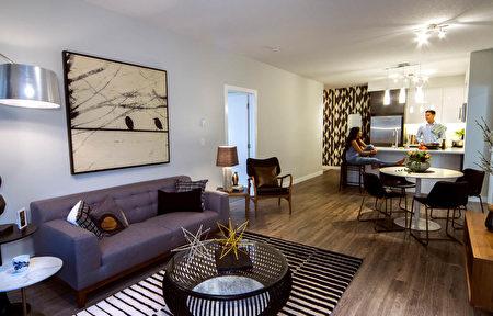 具现代欧式建筑风格的室内空间(Slokker-West 提供)。