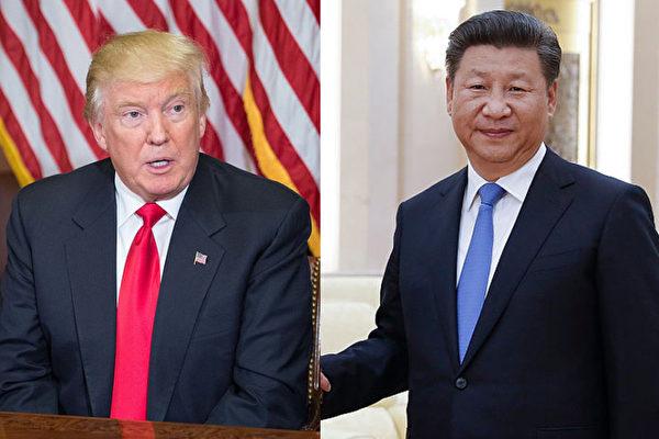 習近平致電特朗普 盼推進兩國關係