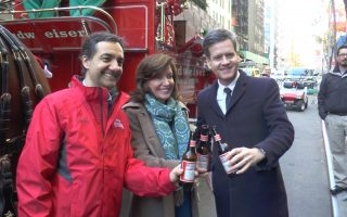 全美最大啤酒公司 纽约总部开张