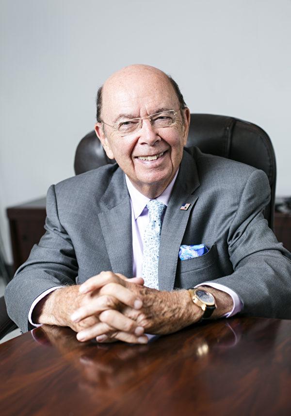 美國新任商務部長羅斯(Wilbur L. Ross Jr.)2015年9月2日曾接受英文大紀元專訪。(Samira Bouaou/英文大紀元)