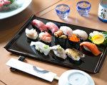 壽司田製作的日式和食。(Benjamin Chasteen/大紀元)