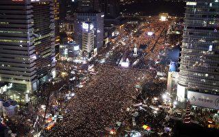 第6週嗆朴百萬示威 燭光遊行前進青瓦臺