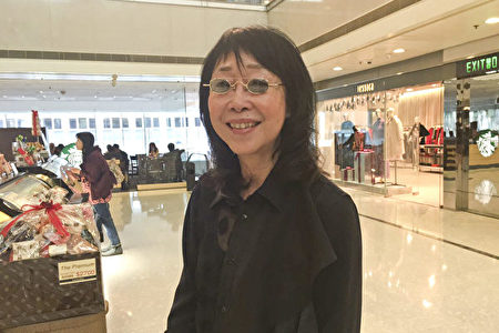 金像奖最佳导演张婉婷。(梁真/大纪元)