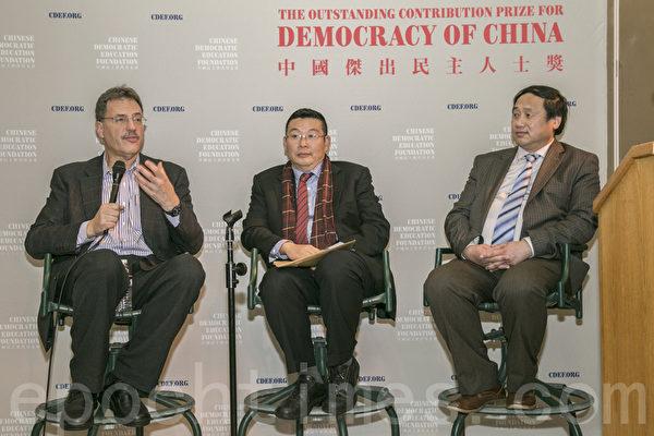 民主教育基金會創會30年論壇在舊金山舉行