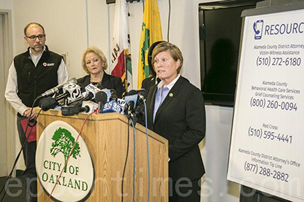 加州奧克蘭倉庫大火現場調查結束 ATF強調原因仍未確定