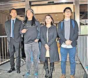 四民主派議員宣誓案 明年二月開審