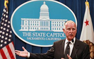 加州州長布朗簽署永久節水法規