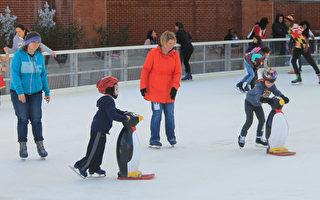 瑞雪迎新年 滑冰場節假日受「熱捧」