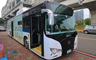 中市減空汙雙管齊下 增電動公車老車裝濾煙器
